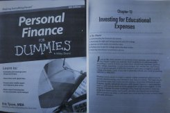 Redacted Pictures Personal Finance For Dummies By Eric Tyson - Cover and Page 247- 11 SEP 2018...jpg